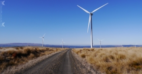 Mahinerangi Wind Farm, New Zealand.