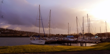 Marina at Magnet Street, Dunedin, New Zealand.