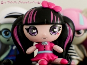 Day 3 - 03/01/17 - Monster High Minis - Draculaura/Rochelle Goyle/Frankie Stein